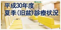 平成30年度連休診療状況(盆)